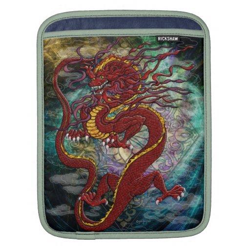 Manga china de Ipad del dragón Funda Para iPads
