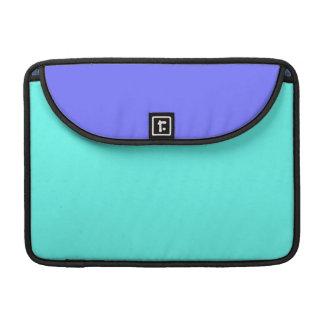 Manga clara 15 de MacBook Pro del cielo azul Funda Macbook Pro