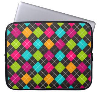 Manga colorida de moda del ordenador portátil del  funda portátil