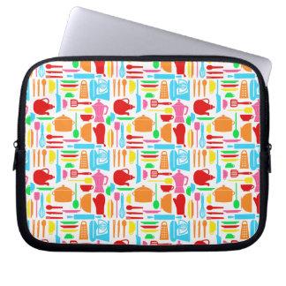 Manga colorida del ordenador portátil de las merca funda portátil