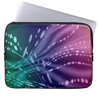 Manga colorida del ordenador portátil del neopreno funda portátil