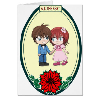 Manga couple, All the best Card