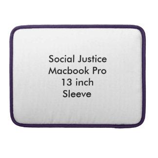 Manga de 13 pulgadas de Macbook de la justicia Funda Para Macbooks
