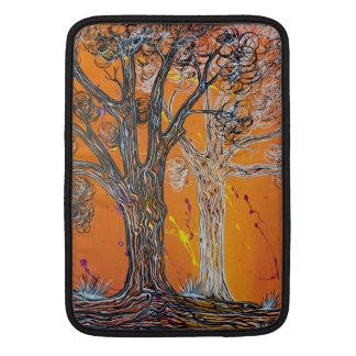 Manga de Airbook del mac de los árboles del fantas Funda Para Macbook Air
