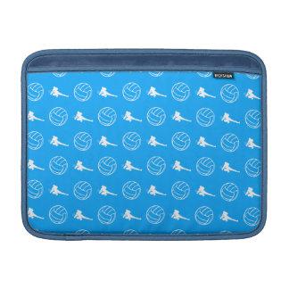 Manga de aire azul de MacBook del modelo del volei Funda MacBook