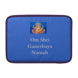 Manga de aire azul de señor Ganesh Macbook Fundas Para Macbook Air