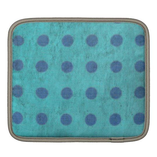 Manga de aire azul y azul de MacBook de los lunare Funda Para iPads