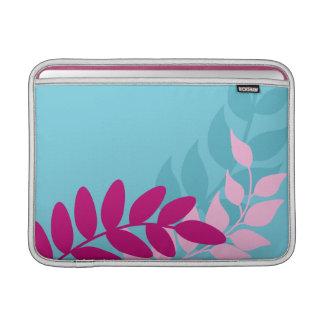 Manga de aire azul y rosada de Macbook de las Funda Para Macbook Air