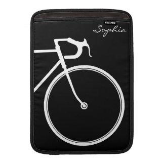 Manga de aire blanco y negro de MacBook Funda Para MacBook