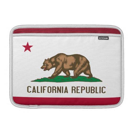 Manga de aire de California Macbook Funda MacBook
