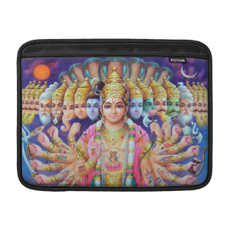 Manga de aire de Krishna Vishvarupa MacBook Fundas MacBook