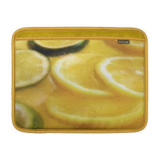 Manga de aire de MacBook de la fruta cítrica Fundas Para Macbook Air