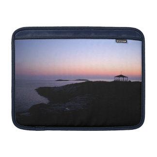 Manga de aire de MacBook de la puesta del sol del Funda Macbook Air