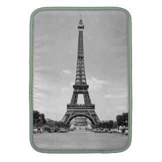 Manga de aire de Macbook de la torre Eiffel Funda MacBook