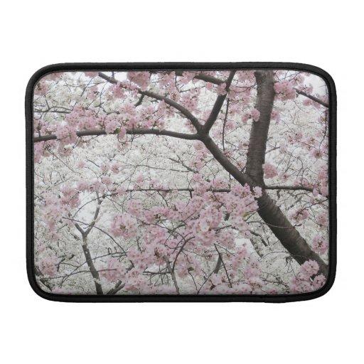 Manga de aire de Macbook de las flores de cerezo 1 Funda MacBook