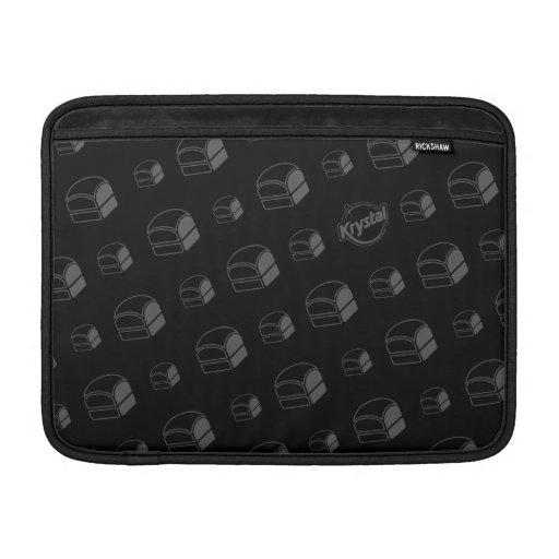 Manga de aire de MacBook de las hamburguesas de Kr Fundas Macbook Air