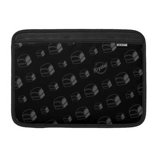 Manga de aire de MacBook de las hamburguesas de Kr Funda MacBook