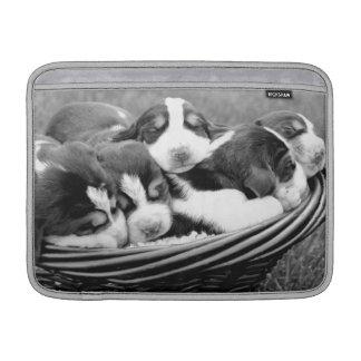 Manga de aire de MacBook de los perritos el dormir Funda Macbook Air