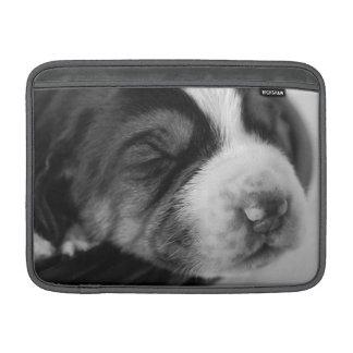 Manga de aire de MacBook del perrito del Coonhound Funda Macbook Air