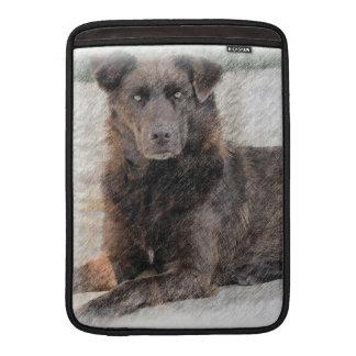 Manga de aire de MacBook del perro perdiguero de Funda MacBook