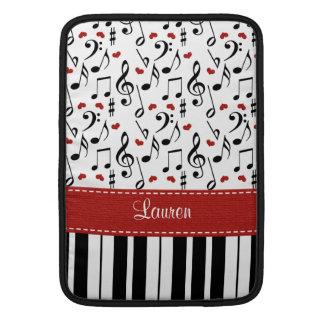 Manga de aire de Macbook del piano 13 y 11 pulgada Funda Macbook Air