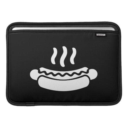 Manga de aire de MacBook del pictograma del perrit Funda Macbook Air