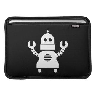 Manga de aire de MacBook del pictograma del robot Funda Macbook Air