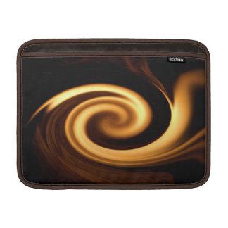 Manga de aire de MacBook del remolino del fuego Funda Macbook Air