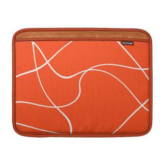 Manga de aire de MacBook - líneas abstractas Funda Para Macbook Air