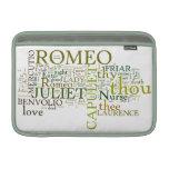 Manga de aire de Romeo y de Juliet Macbook Funda MacBook