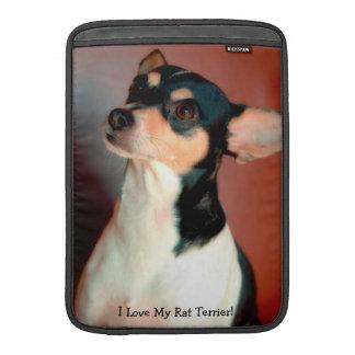 Manga de aire de Terrier de rata MacBook Funda Macbook Air