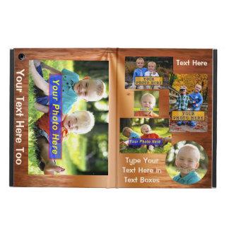 manga de AIRE del iPAD, caso del iPad del collage