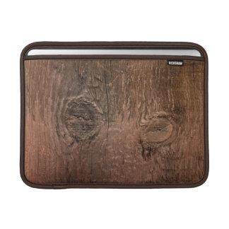Manga de aire del macbook del tablero de madera funda para macbook air