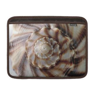 Manga de aire espiral de Shell MacBook Fundas MacBook