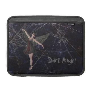 Manga de aire gótica de MacBook del ángel oscuro Fundas Macbook Air