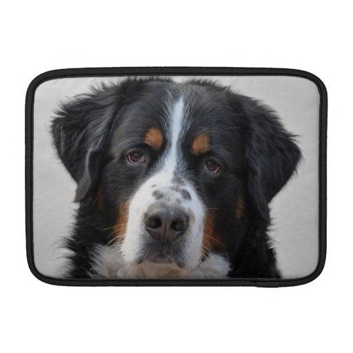 Manga de aire hermosa del macbook del perro de mon funda macbook air