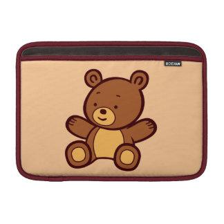 Manga de aire linda de Macbook del oso de peluche  Funda Para Macbook Air