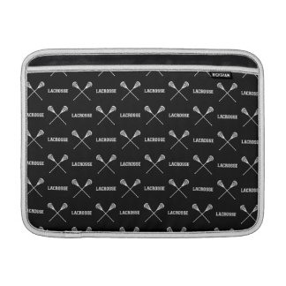 Manga de aire negra de MacBook de los palillos de  Fundas Macbook Air