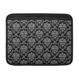 Manga de aire negra y de plata elegante de MacBook Funda MacBook