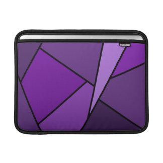 Manga de aire púrpura abstracta de MacBook de los Fundas MacBook