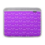 Manga de aire púrpura de MacBook de los palillos d Funda Para Macbook Air
