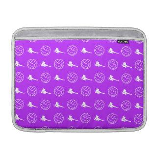 Manga de aire púrpura de MacBook del modelo del vo Funda MacBook