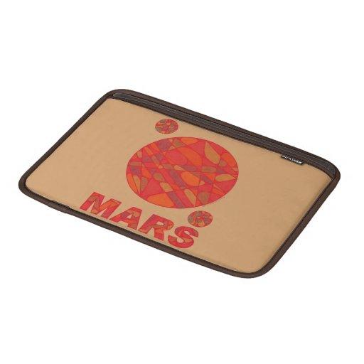 Manga de aire roja de Macbook del carrito del Funda MacBook