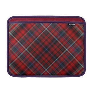 Manga de aire roja y azul de Macbook de la tela es Funda MacBook