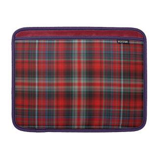 Manga de aire roja y azul de Macbook de la tela es Fundas Para Macbook Air