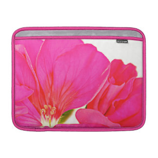 Manga de aire rosada de MacBook de la flor Fundas Para Macbook Air