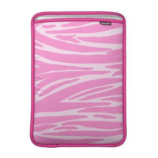 Manga de aire rosada de MacBook del estampado de a Fundas Macbook Air