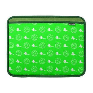 Manga de aire verde de MacBook del modelo del vole Funda MacBook