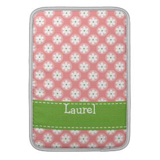 Manga de aire verde rosada de muy buen gusto de Ma Funda MacBook