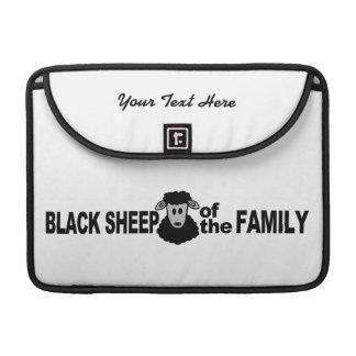 Manga de encargo de MacBook de las ovejas negras Fundas Macbook Pro